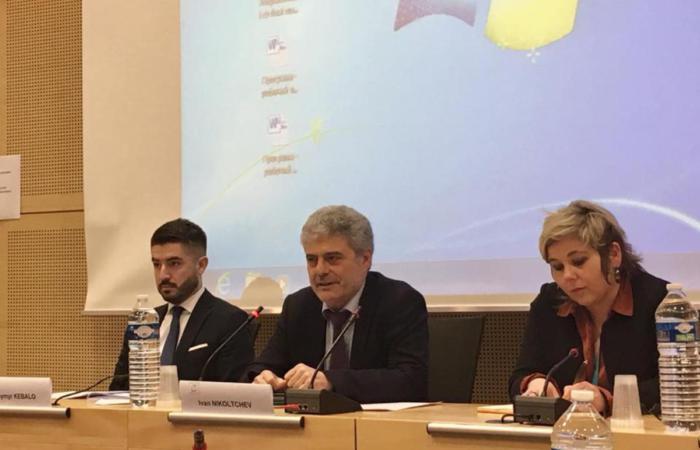 Презентація у Стразбурзі