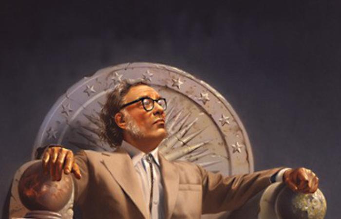 Яким побачив 2014 Айзек Азимов у 1964?