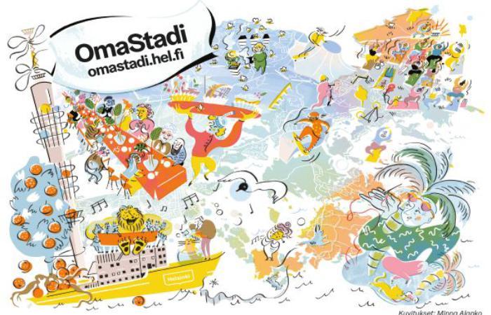 Гельсінкці проголосують за виконання понад 300 планів на платформі OmaStadi