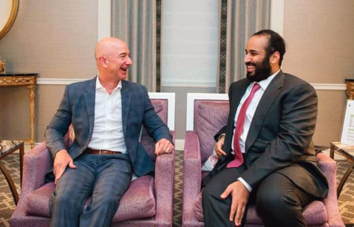 Телефон босса Амазона - Джеффа Безоса взломан наследным принцем Саудовской Аравии