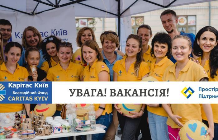 Благодійний фонд «Карітас-Київ» оголошує конкурс на вакансію фахівця з розвитку громад