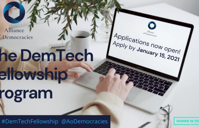 Програма стипендій DemTech від Альянсу демократій