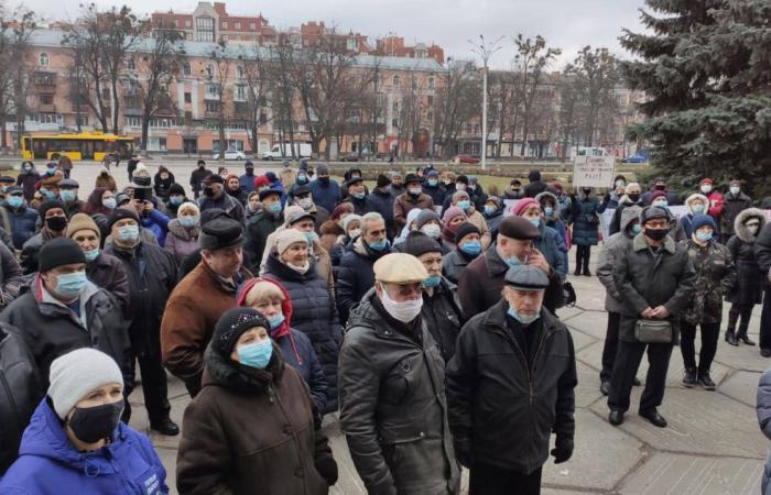 Полтачани протестують проти підвищення ціни на газ