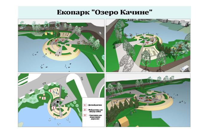 Громадський проект №99 Екопарк озеро Качине - переможець ГБ1 МАЄ БУТИ РЕАЛІЗОВАНИМ
