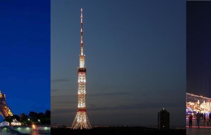 Освітлення Київської телевежі