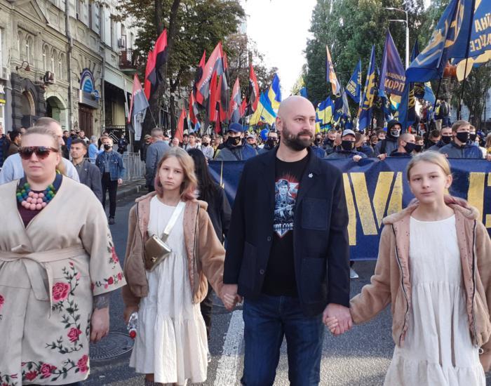 14 жовтня у Києві пройшов традиційний Марш УПА