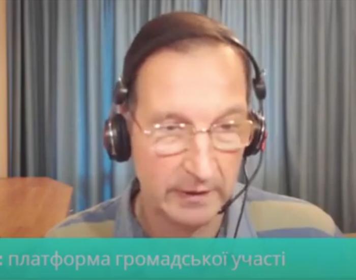 Перший ефір: перший гість - Олег Чеславський